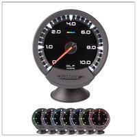 digital fuel gauge Universal GReddi Sirius Meter Series Trust 7 colors Oil Press Racing Car Auto Gauge Oil Pressure Gauge