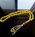 Free shipping  new Beautiful Islamic 33 Resin Amber Prayer Beads Tasbih Allah Muslim prayer Rosary Tesbih misbaha masbaha