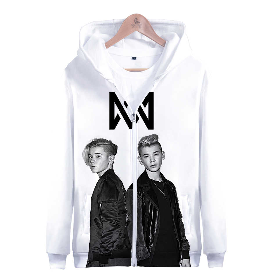 931dcfb2d31 3D Print Marcus and Martinus Hoodie Sweatshirt Long Sleeve Woman Zipper  Casual Hoodies Harajuku Marcus Martinus