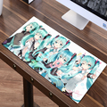 FFFAS Grande 60x30 cm Anime Moda Mouse Pad Juego Gamer Teclado Gaming Mousepad Mat Mausunterlage Tapis De Souris para Tablet PC