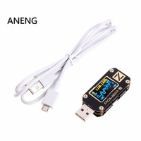 POWER Z USB PD Tester QC3.0 2.0 Charger Voltage Current Ripple Dual Type C KM001