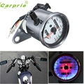 New Arrival Car-styling Motorcycle Dual Odometer Speedometer Gauge LED Backlight Signal Light jn23