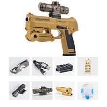 Free Shipping Cool Desert Eagle Toy Pistol Model Gun Airsoft Bullet Toy Gun Waterpaint Airgun for Kids Gift CS Outdoor Battle
