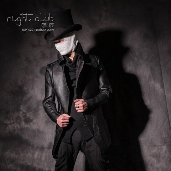 2015 Men S Fashion Winter Leather Motorcycle Clothing Slim