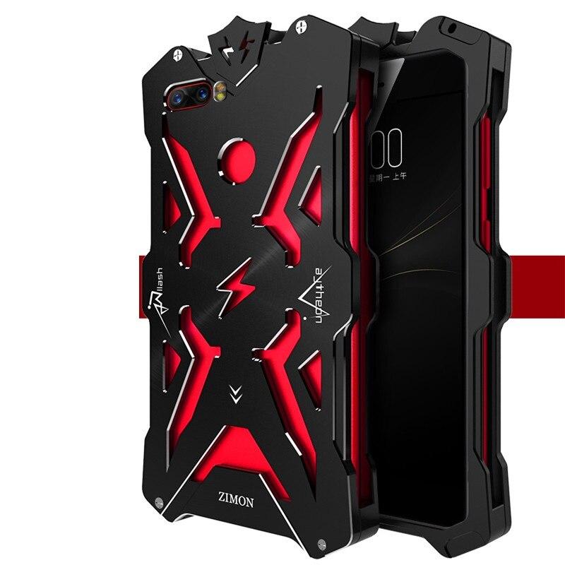 Zimon Powerful Shockproof Screw Metal case for Nubia z17 mini Aluminum Phone Cases z17 mini Nubia z17