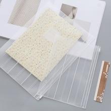 10 штук в наборе, A4 A5 пластиковая папка для файлов прозрачное матовое папка для документов Файл и органайзер для бумаг офисные и школьные принадлежности