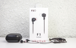 Image 5 - FIIO F1 Dynamic In Ear Monitors earbuds high performance potential Earphone with in line microphone and remote 3.5mm jack 120cm