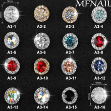 Get more info on the 100 x latest Luxury Rotate 3D Fashion Alloy Nail Art Decoration Crystal High-Speeding Gel Polish Accessories Nail Art Jewelry,A3