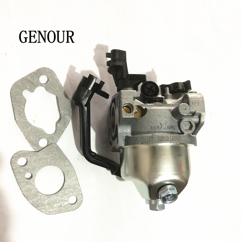 Top quality ruixing carburator ASSY FITS FOR 2kw EC2500 GX160 GX200 GASOLINE GENERATOR,168F-1 CARB ASSEMBLY FREE REPLACE PART oil alert sensor for gasoline generator spare part ec2500 gx160 gx200 2kw 2 5kw oil sensor alarm chinese cheap generator engine