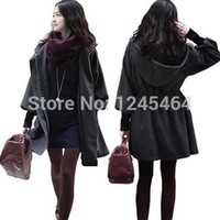 S M L Plus Size Trench Coat For Women Autumn 2015 Winter Women Coat Cashmere Coat