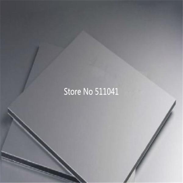 купить 2pcs gr5 Titanium alloy 6al4v plate Ti Titan Gr.5 Gr5 Grade 5 Plate Sheet 4 x 100 x 100 mm free shipping по цене 6799.75 рублей
