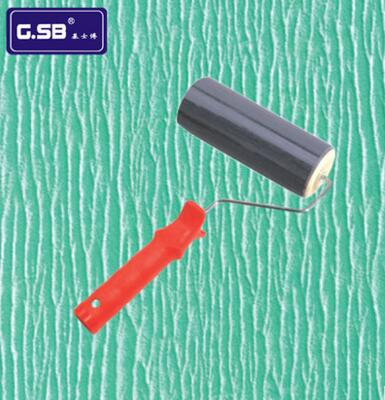 4 inches hard plastic roller for decorative wall texture paint