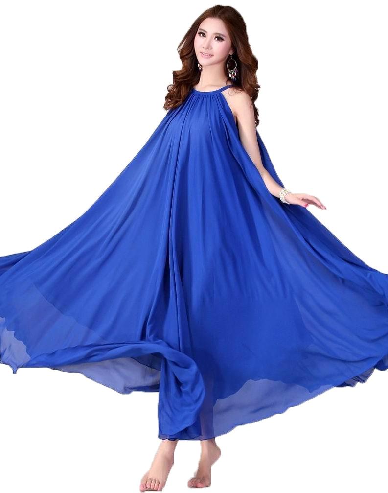 Maxi Dress Adogirl Chiffon Bohemia Beach Dresses Plus Size s