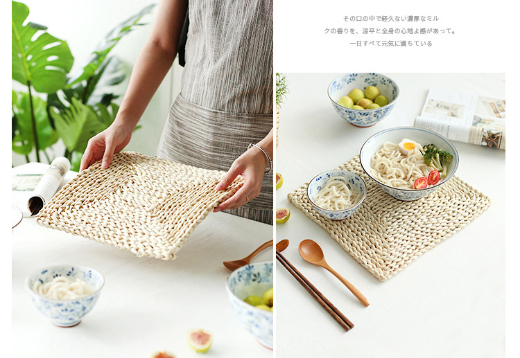 Japan-Cup-Pad-Holder-Placemat-Coffee-Drink-Coasters-Heat-Proof-Braided-Coaster-Mats-Pads-Corn-Bran-Table-Decoration-Accessories-010