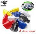 1 pair Motorcycle Handguards Slae free shipping motocross Handguard for suzuki Motorcycle Hand Guards Shield Dirt ATV Plastic