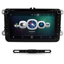 8inch 2din Multimedial VW Car DVD GPS Navigation audio camera TV player for GOLF 6 new polo New Bora JETTA B6 PASSAT SKODA Map