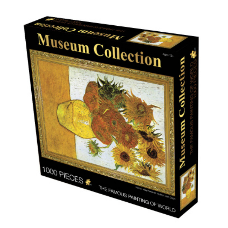 3D Puzzle 1000 шт. взрослые старый мастер головоломки Развивающие игрушки деревянные Бумага Паззлы