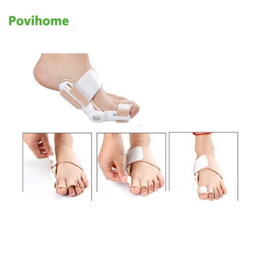 Big Toe Bunion Splint Straightener Valgus Toe Pro Brackets - Sjukvård