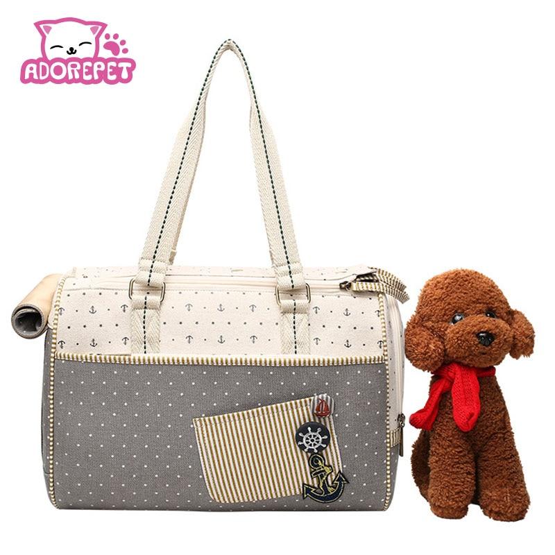 ᑐLujo mascotas pequeño viaje bolsa del ancla perro al aire libre ...