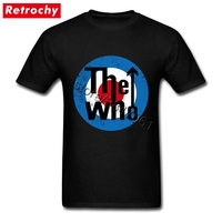 1980 S Rock And Roll Tee Shirts Men S Cheap Brand Vintage The Who T Shirt