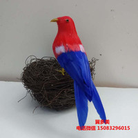 artificial bird about 15cm colourful  feathers bird polyethylene& feathers bird model home Furnishing decoration,gift w5501