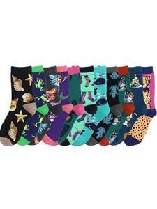 Funny Socks New-Product Harajuku Creative Cartoon Women Animal Cotton Fashion Casual