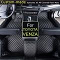 Para Toyota Venza 2014 ~ Alfombrillas Coche Coche que labra Alfombras Pie Alfombras de Automóviles Personalizados Por Encargo