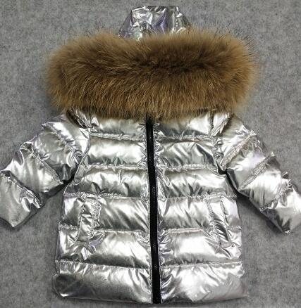 New 2018 Thickened Girls Winter Jackets 2-12T Children Outerwear Winter Coats duck down Coat for Boys parka 4 colour snow wear neffos c5 white