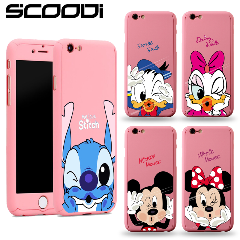 low priced 16e51 edbb8 Comprar Minnie Full Body Protection Cover for iPhone 8 7 6 6s Plus ...