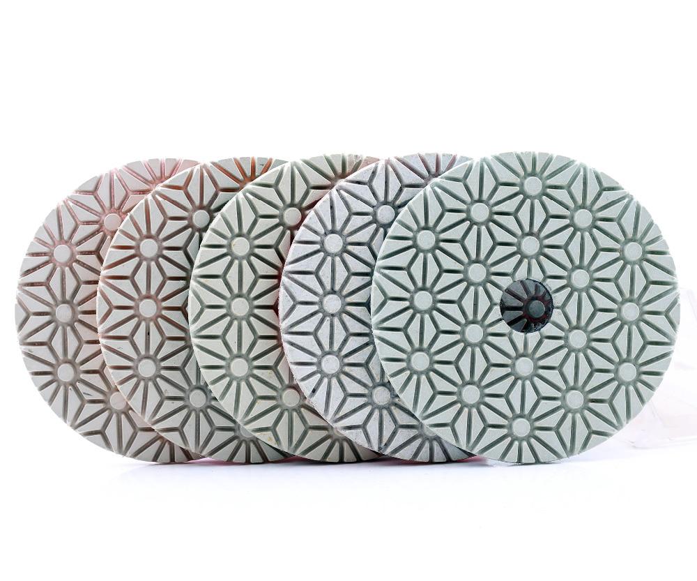 DC-FW5PP02 diamond flexible dry/wet 5 step polishing pads for granite,marble and quartz jakos музыкальная шкатулка балерина цвет фиолетовый