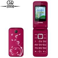 Rosyjska klawiatura Klapki clamshell telefon Oryginalna C3520 FORME Telefonów Dual SIM FM karty Duże Przyciski Czcionki stary komórek telefony