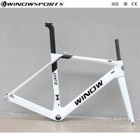 Super Light carbon bicycle bike frame XS S M L XLcarbon aero road frame carbon racing road Frame+Fork+headset