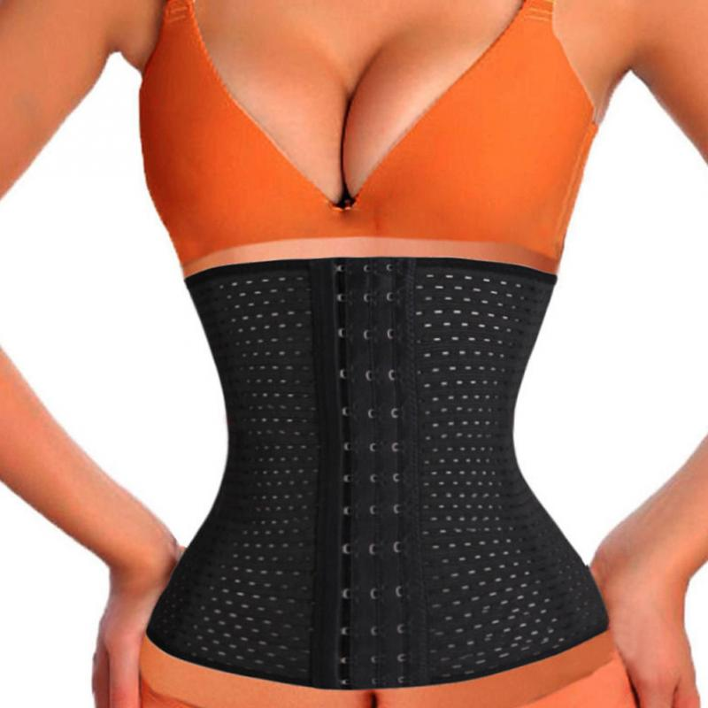 NEW Women Body Shaper Slim Waist Tummy Belt Waist Cincher Underbust Control   Corset   Waist Trainer Slimming Belt Shaper M-XL
