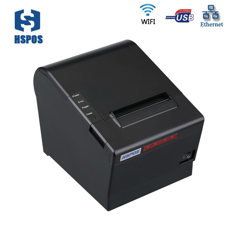 More safe 80mm thermal wifi printer support MQTT cloud printing with android and ios free sdk