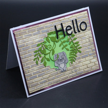 ZhuoAng 2019 new wall hole puppy folder / album decoration card, to create a clear seal supplies
