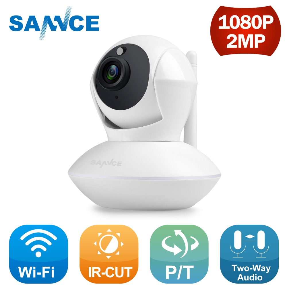SANNCE Clearance 1080P WiFi IP CCTV Security Camera Night Vision Infrared Two Way Audio 1MP Baby Camera Monitor Wireless CameraSANNCE Clearance 1080P WiFi IP CCTV Security Camera Night Vision Infrared Two Way Audio 1MP Baby Camera Monitor Wireless Camera