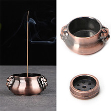 Incense Burner Plate Holder Ash Catcher Holder Ornament for Buddha Temple Incense Stick Cone Incense 7 Holes Home Teahouse Decor(China)