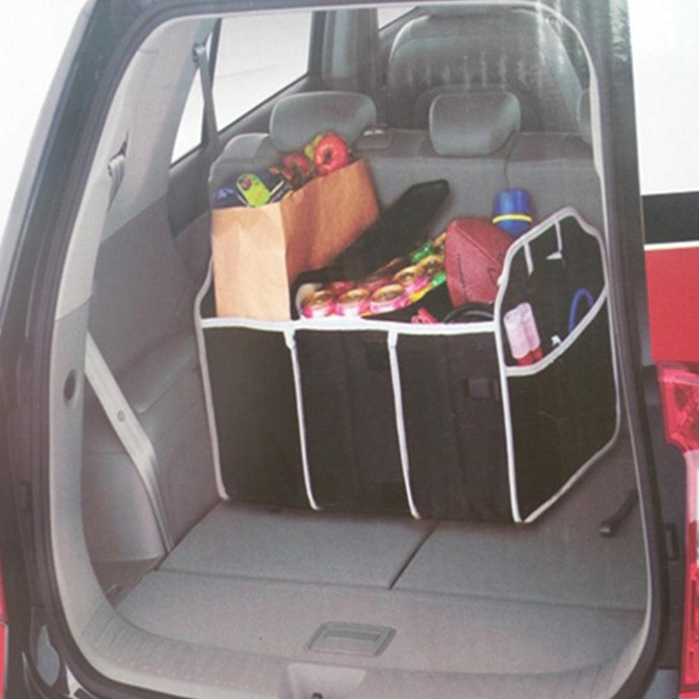 Image 4 - Adeeing Foldable Car Trunk Organizer Bag Truck Van SUV Storage Basket Auto Tools Portable Multi Compartment Organiser r30-in Stowing Tidying from Automobiles & Motorcycles
