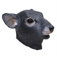 Halloween Mouse Full Head Mice Latex Animal Party Cosplay Fancy Dress Rat Mask