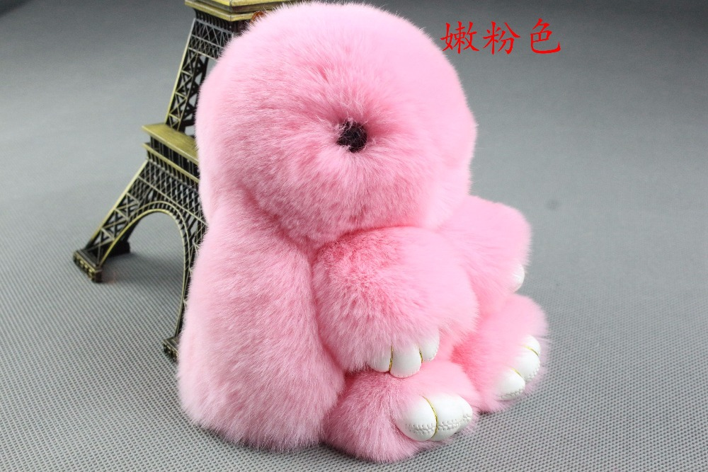 automobile interior, Car ornament, Rabbit hair toy , soft and comfortable , rabbit doll