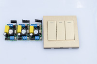 NEW DC12V10A Learning Code Wireless Remote Control Switch System 4 Receiver And 4 Transmitter For Entrance