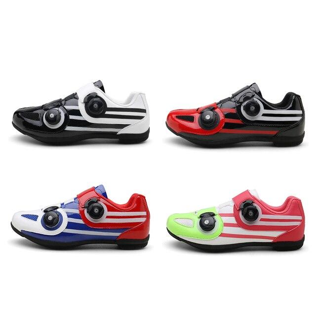 Männer Kein Schloss Radfahren Sneaker Mtb Paar Radfahren Schuhe Anti-überspringen Schutt Sohlen Mountainbike Schuhe Atmungs Rennrad schuhe