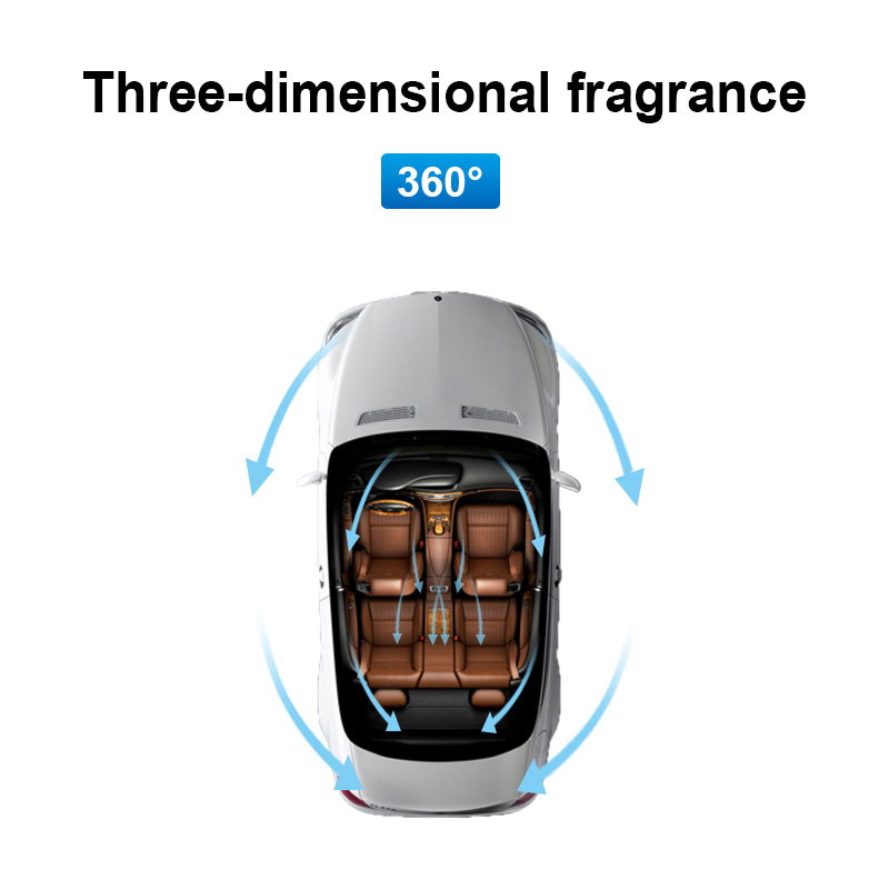 Image 2 - 1pcs Car Air Freshener Replacement Car Perfume Car Styling Conditioning Air Vent Perfume In The Car Solid Freshener Air Purifier-in Air Freshener from Automobiles & Motorcycles
