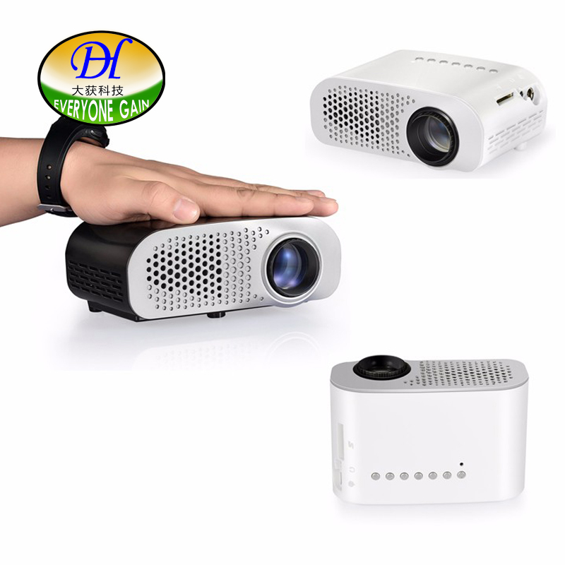 Everyone Gain Portable Projector LED Toy Projector Multimedia Proyector for Pre school Education mini91 Beamer Pico