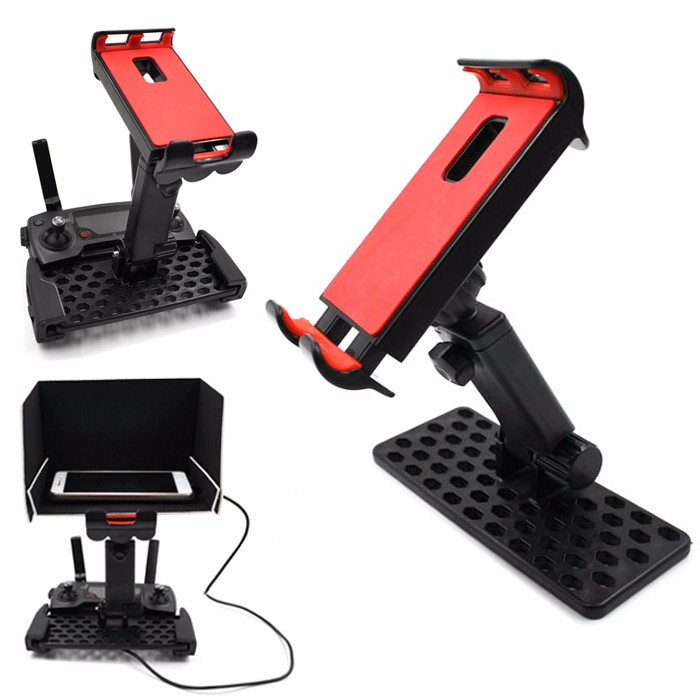 New DJI Mavic Pro Remote Controller Extended Holder Bracket 4-12 inch Phone Tablet Holder For DJI Mavic Pro Holder Accessories