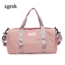 Women Messenger Bags Hot Classic Zipper Solid Nylon Designer Handbags High Quality Shoulder Bag Black Casual