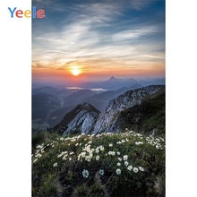 Yeele Landscape Natural Photocall Sunrise Mount Hope Photography Backdrop Personalized Photographic Backgrounds For Photo Studio