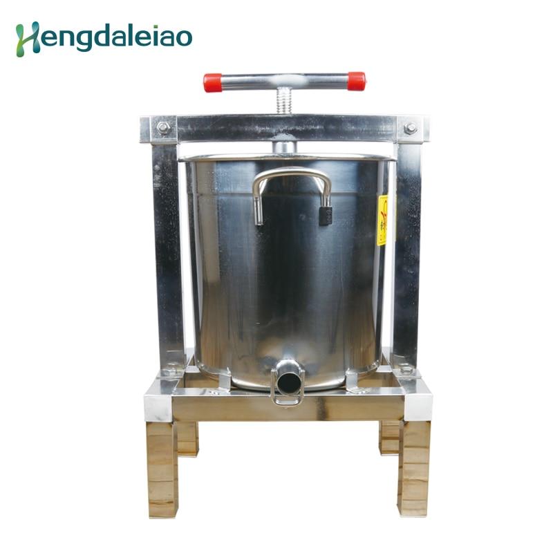 Beekeeping Equipment/Tools Stainless Steel Honey Bees Wax Press/Bee Keeping Wax Presser Machine for Beekeeper wax bees machine