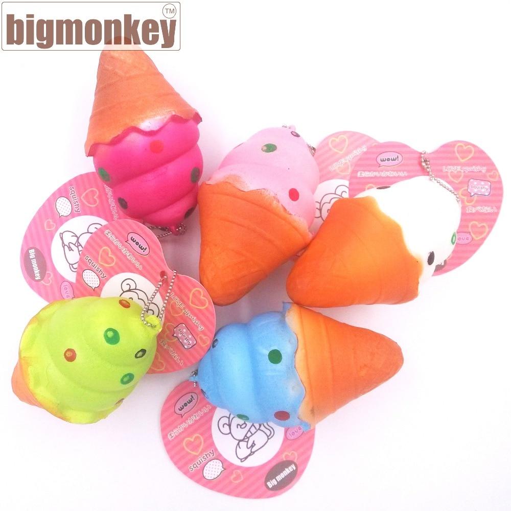 imágenes para Mono grande 8 CM PU MINI estilo helado Encanto Blando Del Teléfono Celular