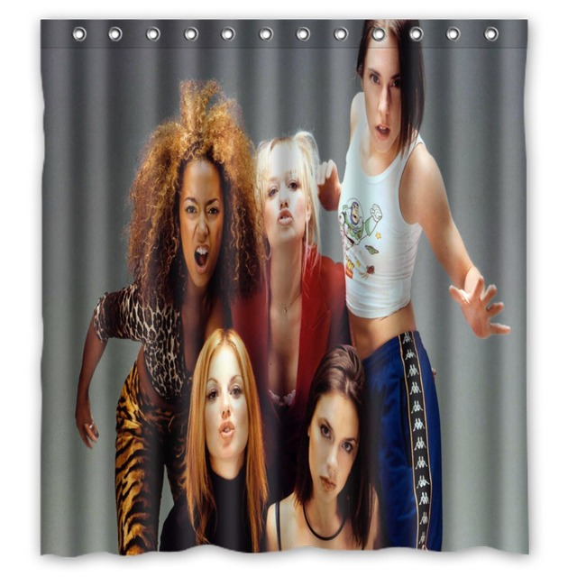 Anime Shower Curtain One Piece Dragon Ball Z Bleach Fairy Tail Naruto Together Spice Girls